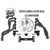 Engine Conversion Kit for LS Engines into KE30, KE35, KE50 & KE55 Toyota Corolla's